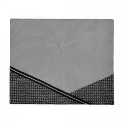 Luxury travel mat PRESTIGE silver