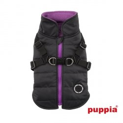 Jacket  MOUNTAINEER II black with harness