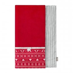 Blanket SCANDI red