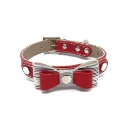 Luxurious PRESTIGE collar - red + Dogs