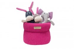Luxury toy box COTTON pink
