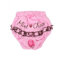 Sanitary Pants MINT & CHOCKO pink