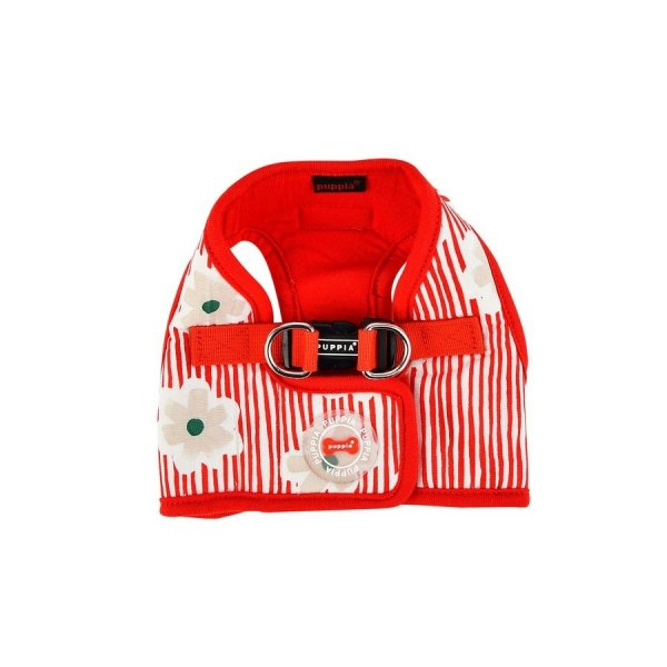 Harness vest VERNA red