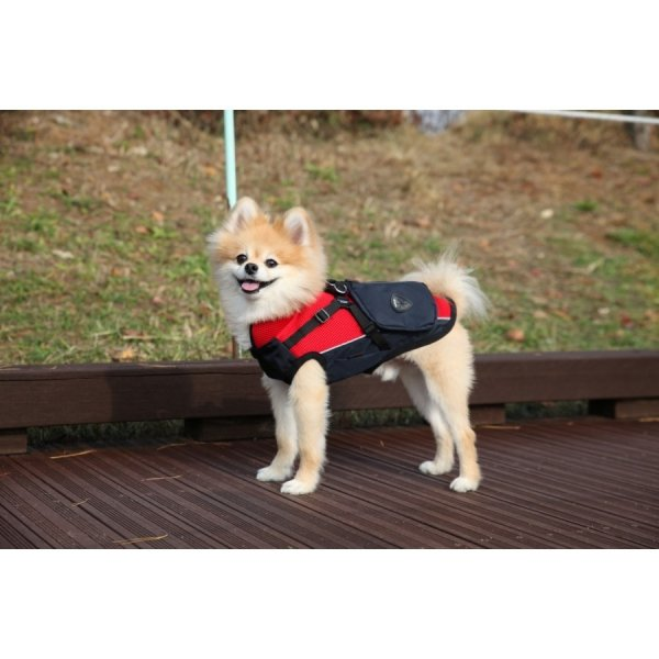 Trekingowa kurtka P2 czerwona Puppia