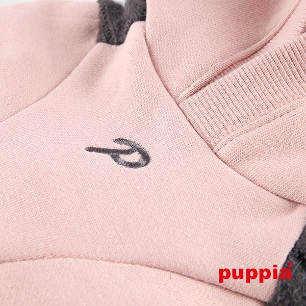 Hoodie BERNIE pink Puppia