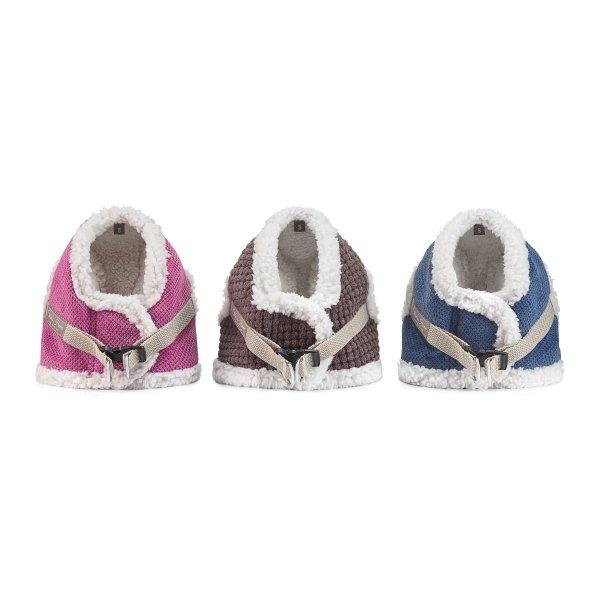 Zimowe szelki dla psa OSLO różowe