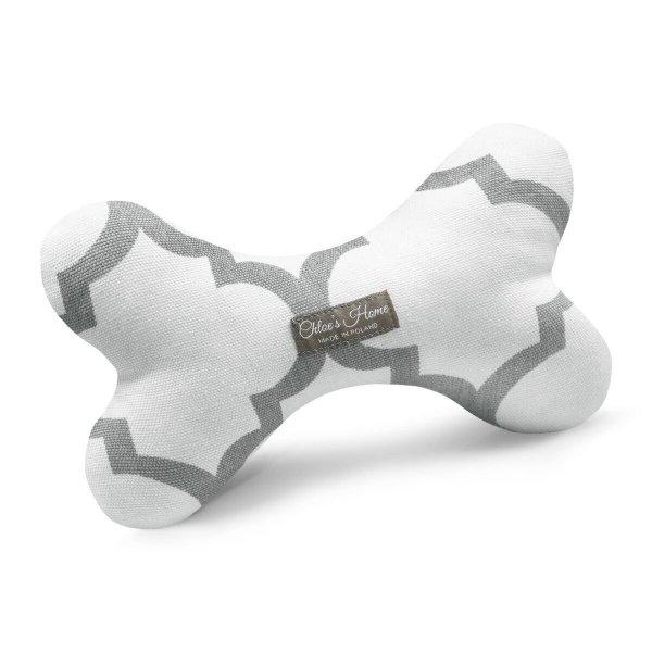 Zabawka kość Rome biała