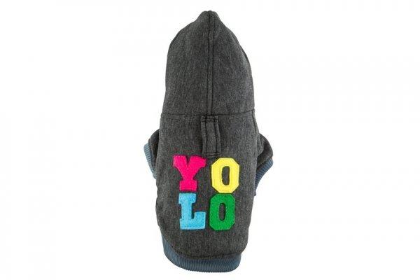 Bluza YOLO grafitowa
