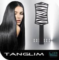 LIM Tanglim szczotka do rozczesywania włosów ZEBRA