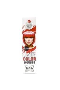 Elysee koloryzująca pianka do włosów 75 ml. Kolor czerwony mak. Nr 45.