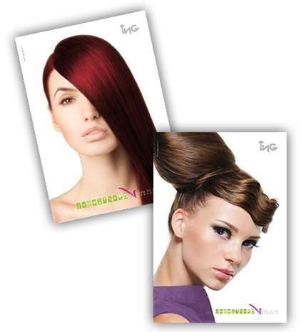ING Coloring Cream 100 ml - odcień: 8.03 Naturalny Jasny Blond Czekoladowy