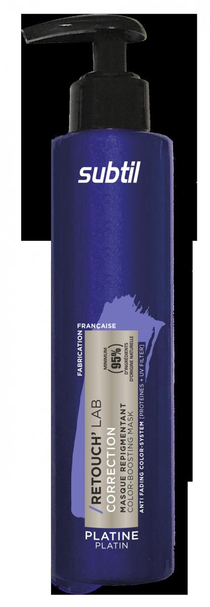 Odżywka do włosów koloryzująca Retouch PLATINE. Pielęgnacja repigmentująca 195 ml.
