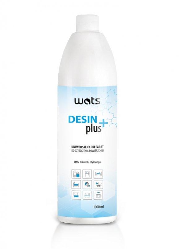 płyn do czyszczenia powierzchni DESIN PLUS alkohol 70%
