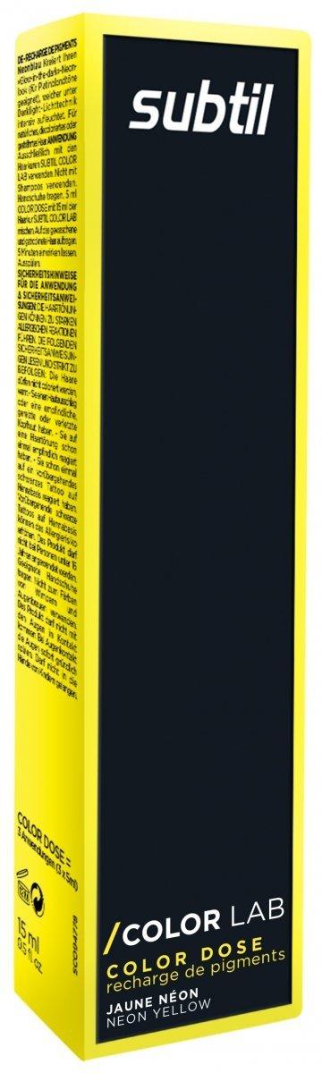 Color Dose NEON 15 ml ŻÓŁTY