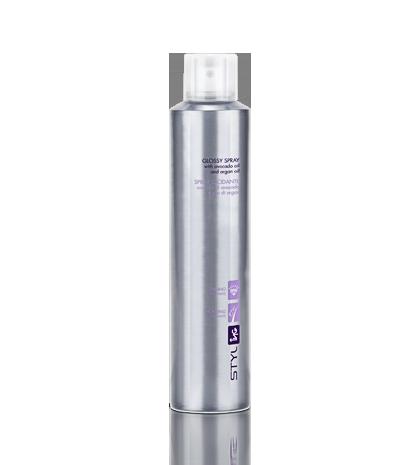 ING Glossy Spray - Spray Nabłyszczający - Argan + Awokado 250 ml