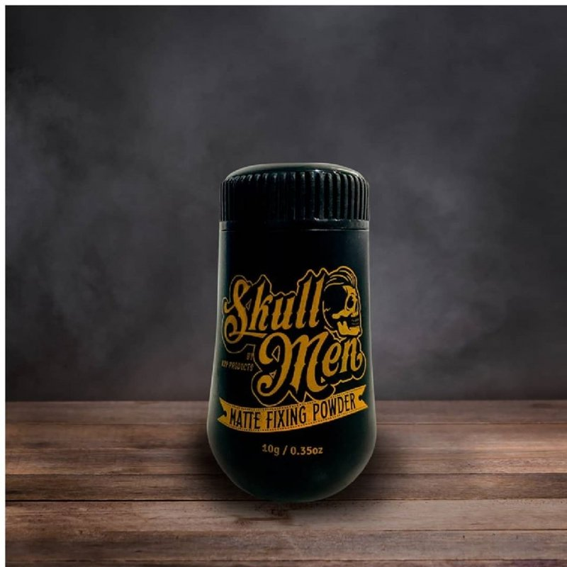 Skull Men - Teksturyzujący puder matujący