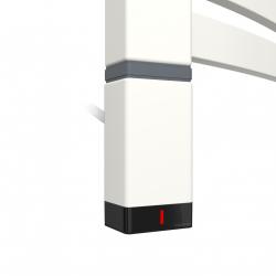 Grzałka One T36x40 Lewy 800W Kolor Biały z Kablem Spiralnym