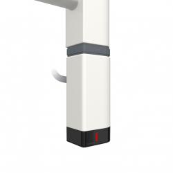 Grzałka One D30x40 Prawy 800W Kolor Biały z Kablem Spiralnym
