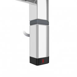 Grzałka One D30x40 Prawy 120W Kolor Chrom z Kablem Spiralnym
