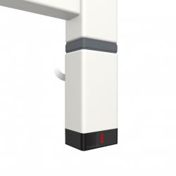 Grzałka One P30x40 1000W Kolor Biały z Kablem Spiralnym