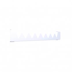 Wieszak Terma Happy Shark do Grzejnika Vivo 300 kolor Biały RAL 9016
