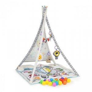 Mata edukacyjna dla niemowląt tipi 20 piłek