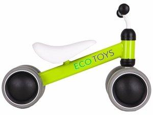 Rowerek biegowy mini rower Practise Green Ecotoys