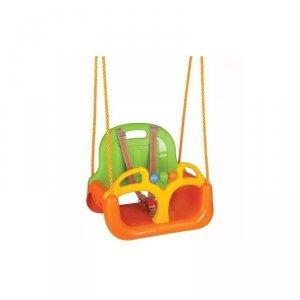 WOOPIE Huśtawka Swing 3w1 Pomarańczowa