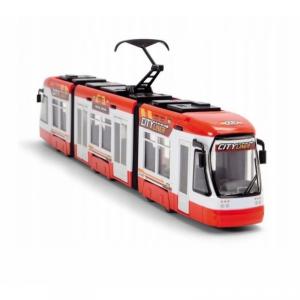 DICKIE Tramwaj City Liner 46 cm Czerwony