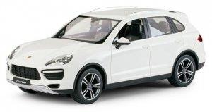 Porsche Cayenne Turbo 1:14 RTR (zasilanie ba baterie AA) - Biały