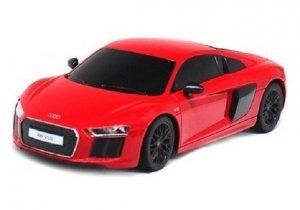 Audi R8 1:24 RTR (zasilanie na baterie AA) - Czerwony