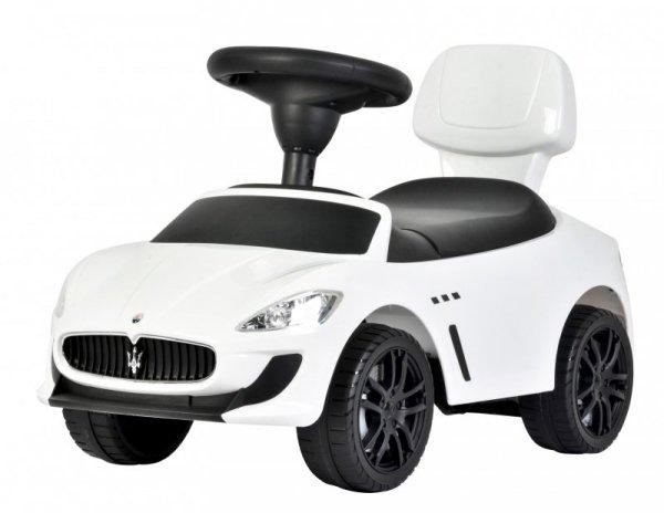 Jeździk Maserati z efektami dźwięku biały