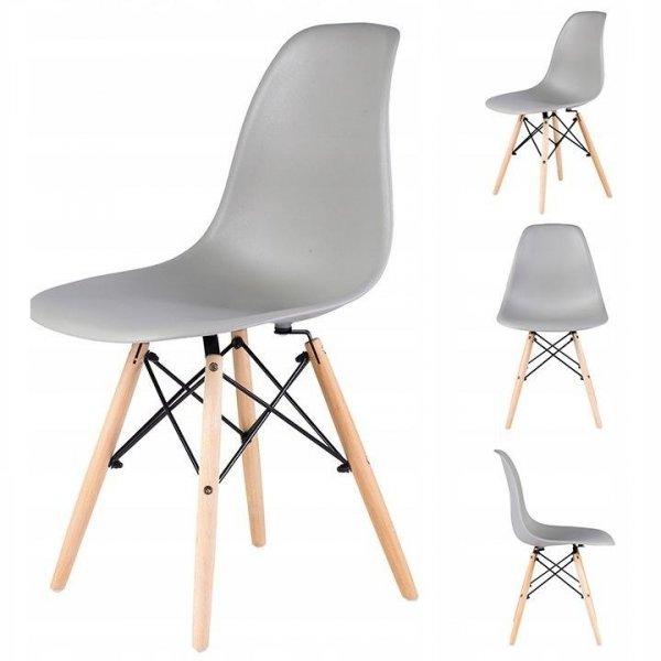 Zestaw 4 krzeseł do salonu jadalni