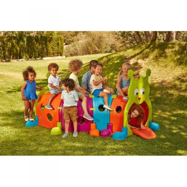 FEBER Tunel dla dzieci Gąsienica 178 cm Modułowy Plac Zabaw