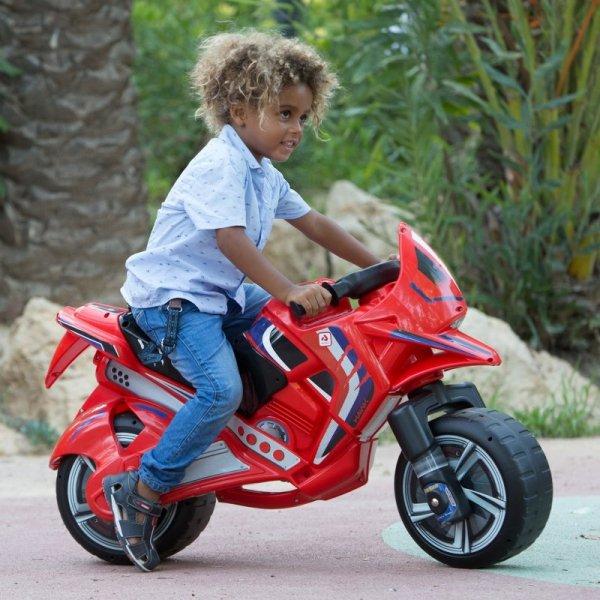 INJUSA Jeździk Motor Biegowy Pchacz Hawk