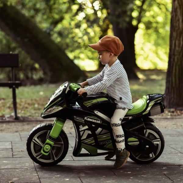 INJUSA Kawasaki Jeździk Motorek Biegowy Winner (od 3 lat)
