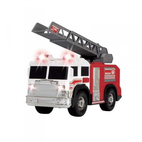 Dickie SOS Wóz strażacki 30 cm Światło Dźwięk