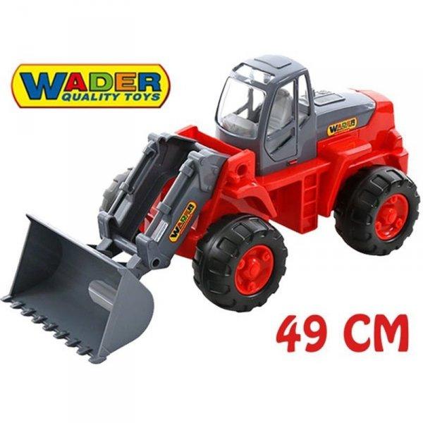WADER QT Traktor Koparka Ładowarka 49cm