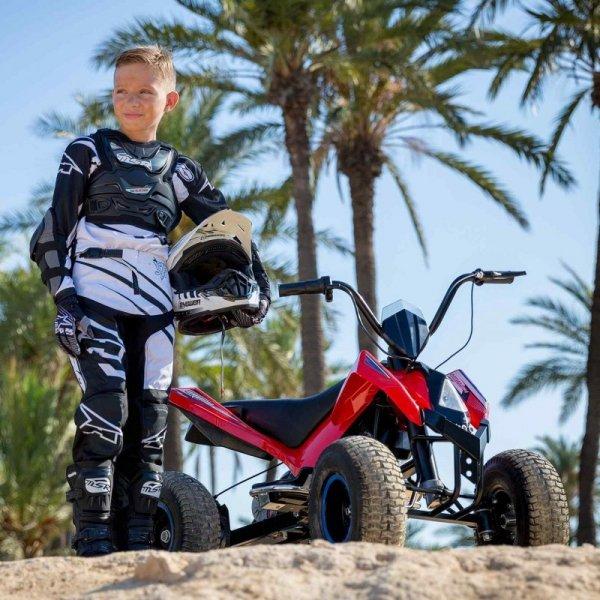 INJUSA Sportowy Quad Na Akumulator 24V X-Treme Hunter Pompowane Koła