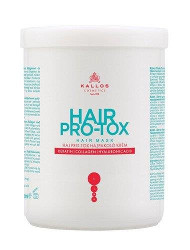 KALLOS KJMN HAIR PRO-TOX - Maska do włosów 1000 ml