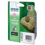 Epson oryginalny wkład atramentowy / tusz C13T034640. light magenta. 440s. 17ml. Epson Stylus Photo 2100 C13T03464010