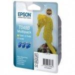 Epson oryginalny wkład atramentowy / tusz C13T048B40. light CMY. 430s. 3x13ml. Epson Stylus Photo R200. 220. 300. 320. 340