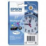 Epson oryginalny wkład atramentowy / tusz 13T27054012. 27. color. 3x3.6ml. Epson WF-3620. 3640. 7110. 7610. 7620 C13T27054012
