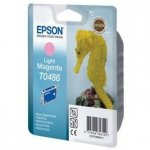 Epson oryginalny wkład atramentowy / tusz C13T048640. light magenta. 430s. 13ml. Epson Stylus Photo R200. 220. 300. 320. 340. RX500. 600 C13T04864010