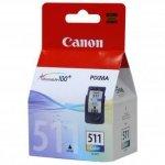 Canon oryginalny wkład atramentowy / tusz CL511. color. 245s. 9ml. 2972B001. Canon MP240. MP260 2972B001