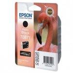 Epson oryginalny wkład atramentowy / tusz C13T08714010. photo black. 11.4ml. Epson Stylus Photo R1900