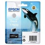 Epson oryginalny wkład atramentowy / tusz C13T76094010. T7609. light light black. 25.9ml. 1szt. Epson SureColor SC-P600 C13T76094010