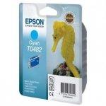 Epson oryginalny wkład atramentowy / tusz C13T048240. cyan. 430s. 13ml. Epson Stylus Photo R200. 220. 300. 320. 340. RX500. 600 C13T04824010