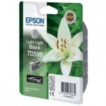 Epson oryginalny wkład atramentowy / tusz C13T059940. light light black. 13ml. Epson Stylus Photo R2400 C13T05994010