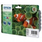 Epson oryginalny wkład atramentowy / tusz C13T027403. color. 220s. 46ml. 2szt. Epson Stylus Photo 810. 830. 925. 935